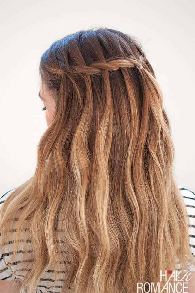 7 Waterfall Braid Tutorials For Perfect Summer Hair Hello Glow
