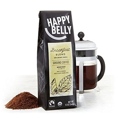 Happy Belly Breakfast Blend Organic Fairtrade Coffee