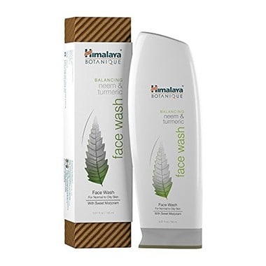 Himalaya Neem & Tumeric Face Wash and Cleanser