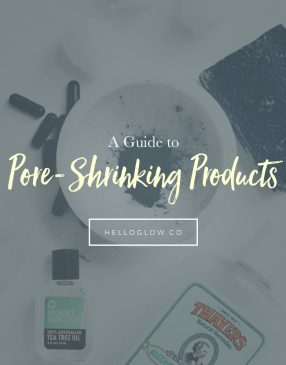 A Guide to Pore-Shrinking Products