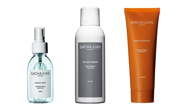 Sachajuan hair products