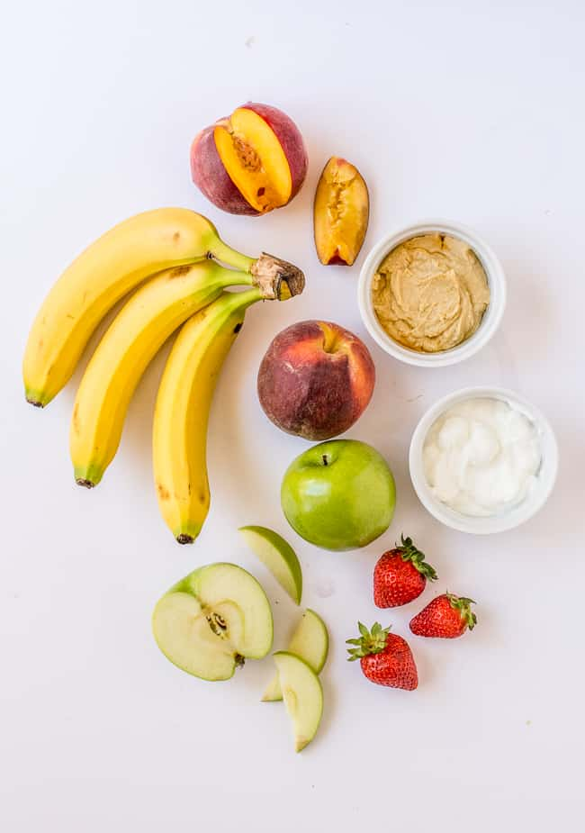 Ingredients for Fruit Toast Toppings