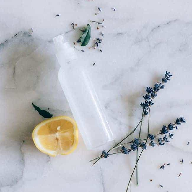 DIY Lavender Lemonade Body Spray