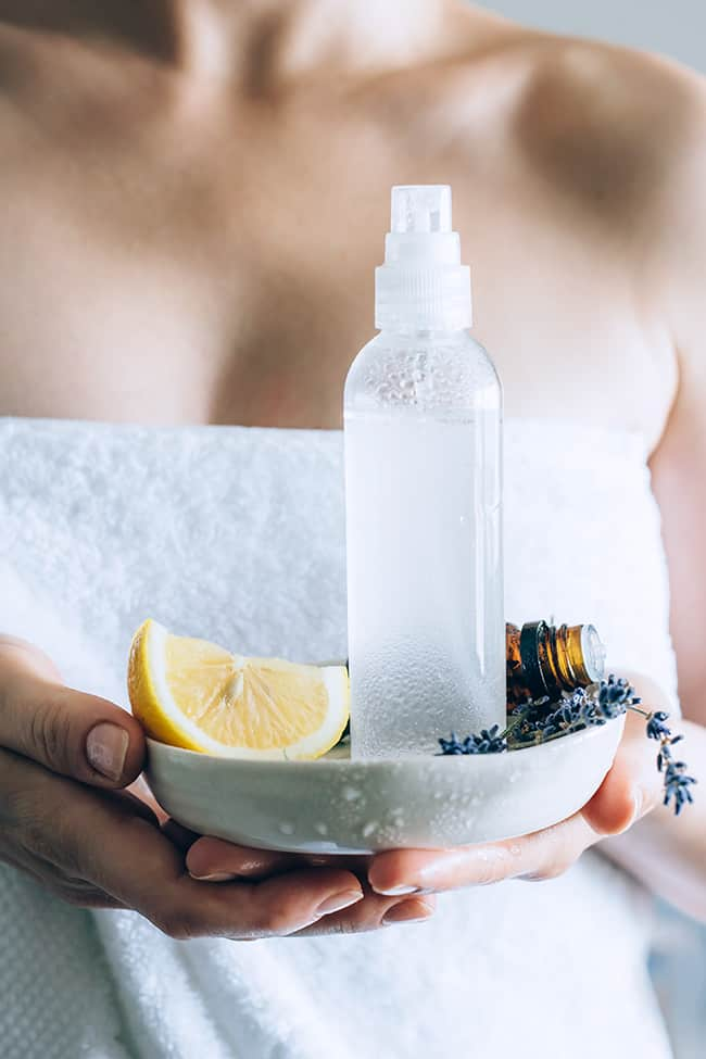 Lavender Lemonade DIY Body Spray