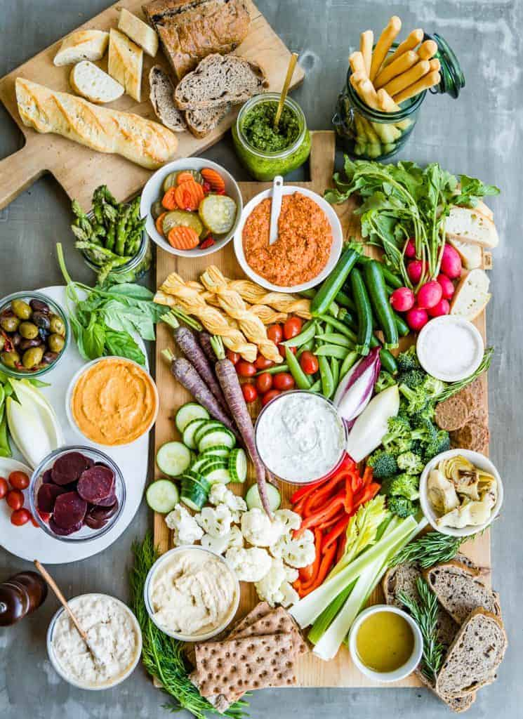 How to Build an Epic Crudite Platter