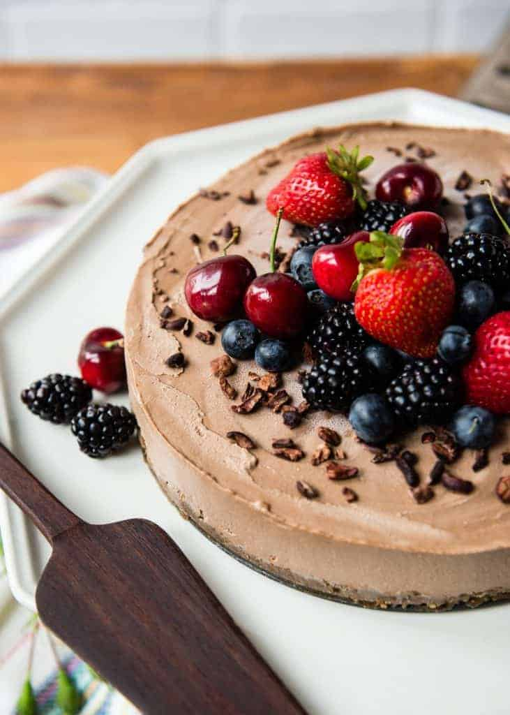Vegan Mexican Cheesecake