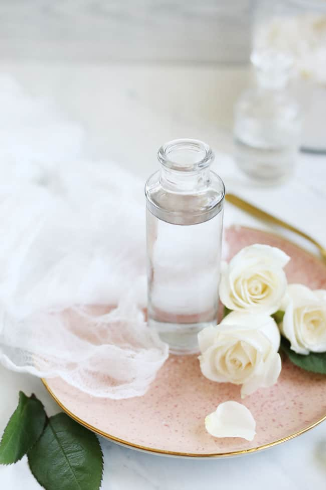 How to make homemade rosewater