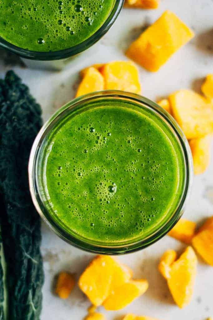 Mango Green Tea Smoothie