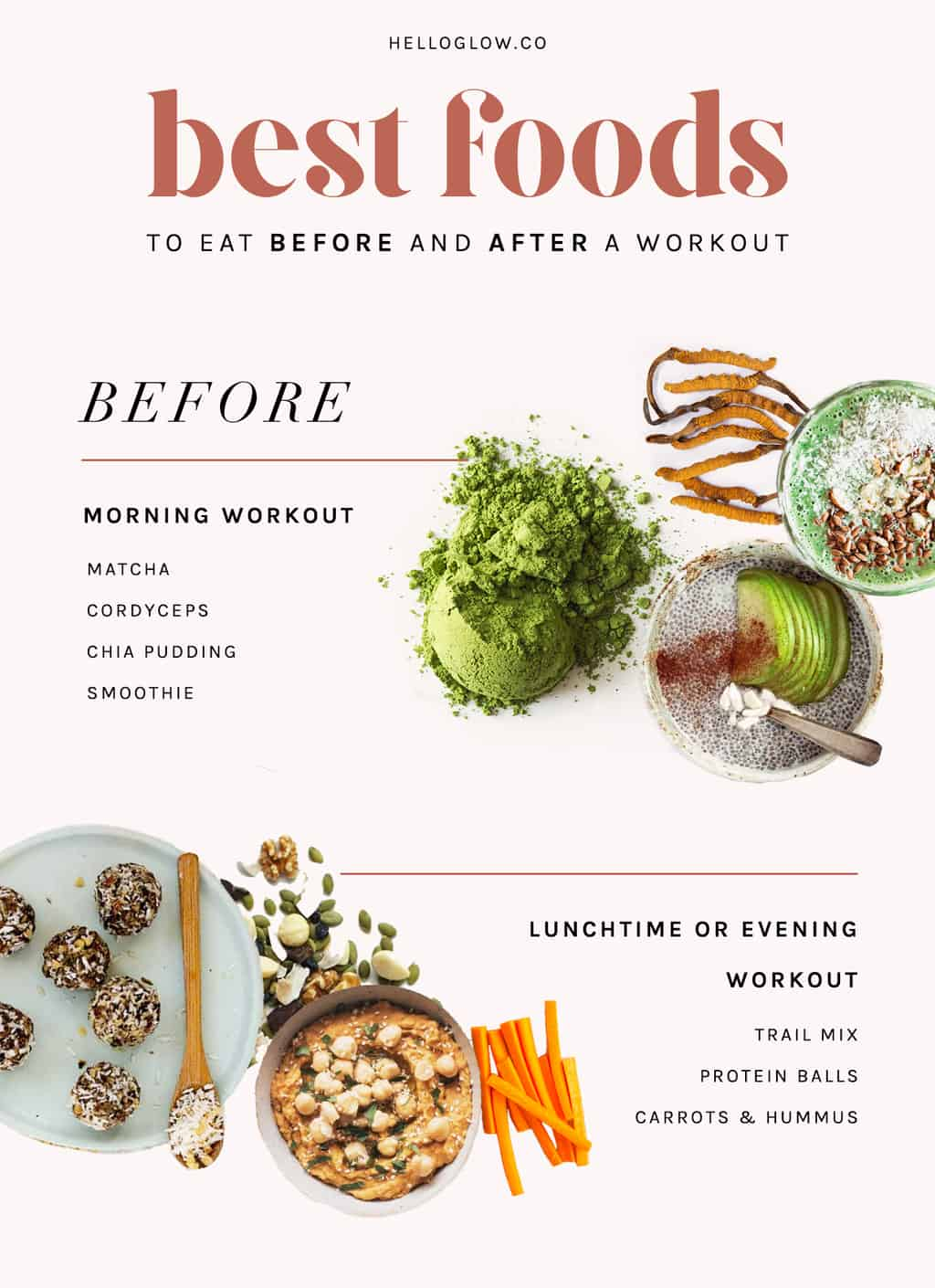 A Nutritionist Explains What To Eat Before A Workout Hello Glow