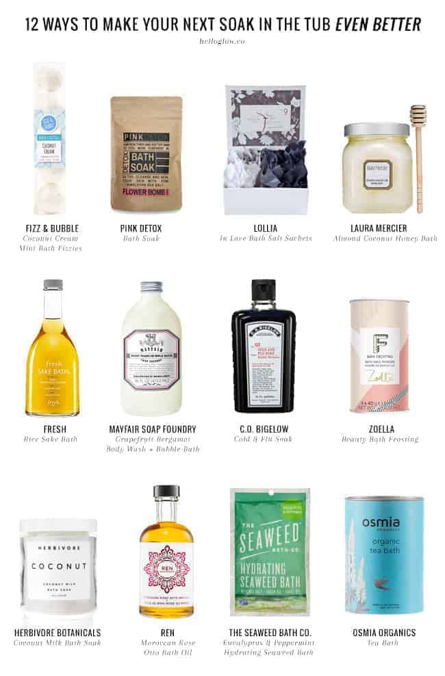 12 Ways to Make Your Next Soak in the Tub Even Better