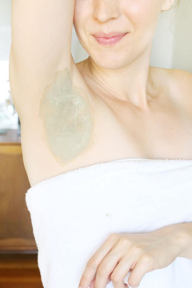 Armpit Detox Mask (+ How to Switch to Natural Deodorant)