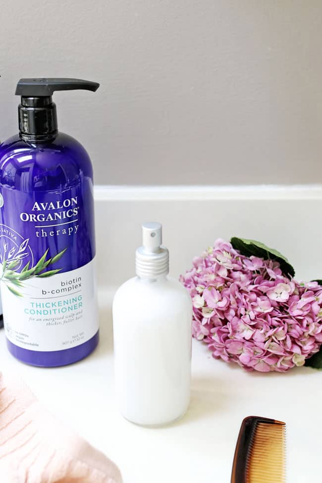Oh And Homemade Hair Detangler Spray Is Very Frugal Too