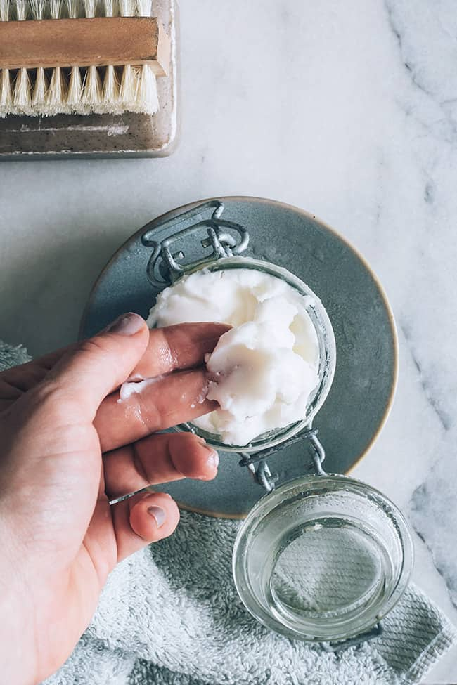Coconut Oil and Shea Butter Body Butter Recipe