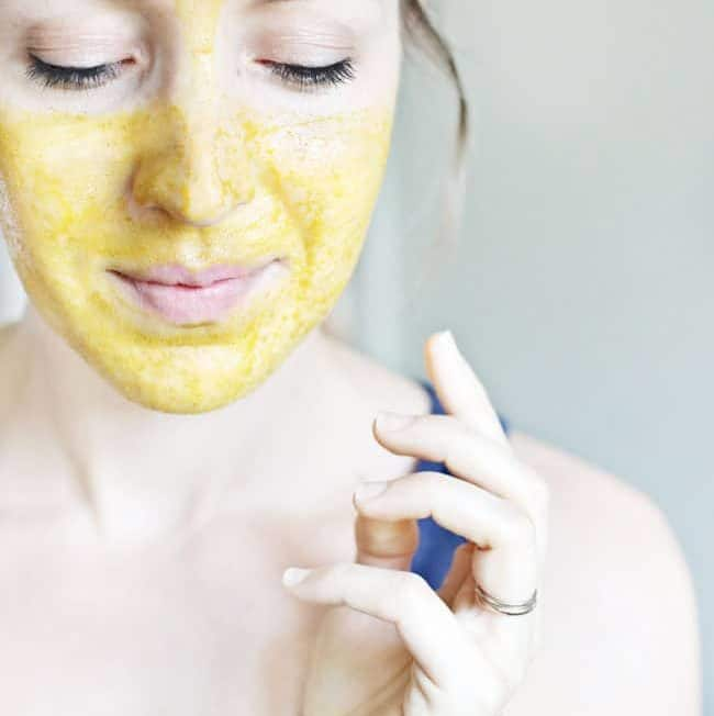 Calm Troubled Skin With This Anti-Inflammatory Turmeric Mask