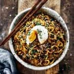 Asian Whole30 Noodle Bowl from Paleo Gluten Free Eats