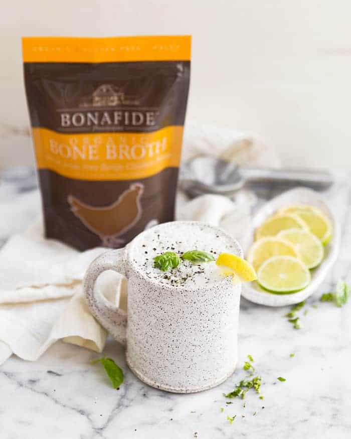 2 Bone Broth Latte Recipes to Nourish Your Body + Soul