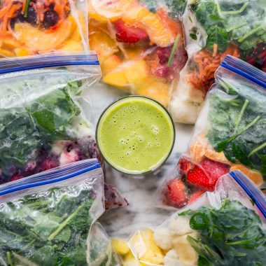 A Week's Worth of Smoothies in Minutes? Yes, It's Possible!
