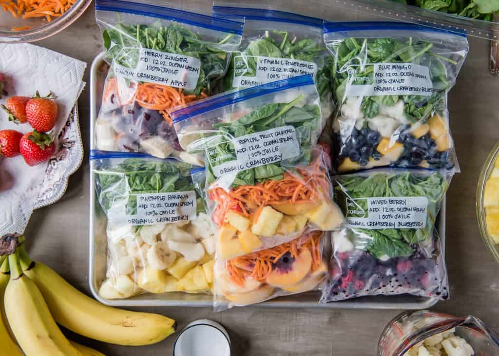 Expert Advice for Prepping Make-Ahead Smoothie Packs Like a Champ