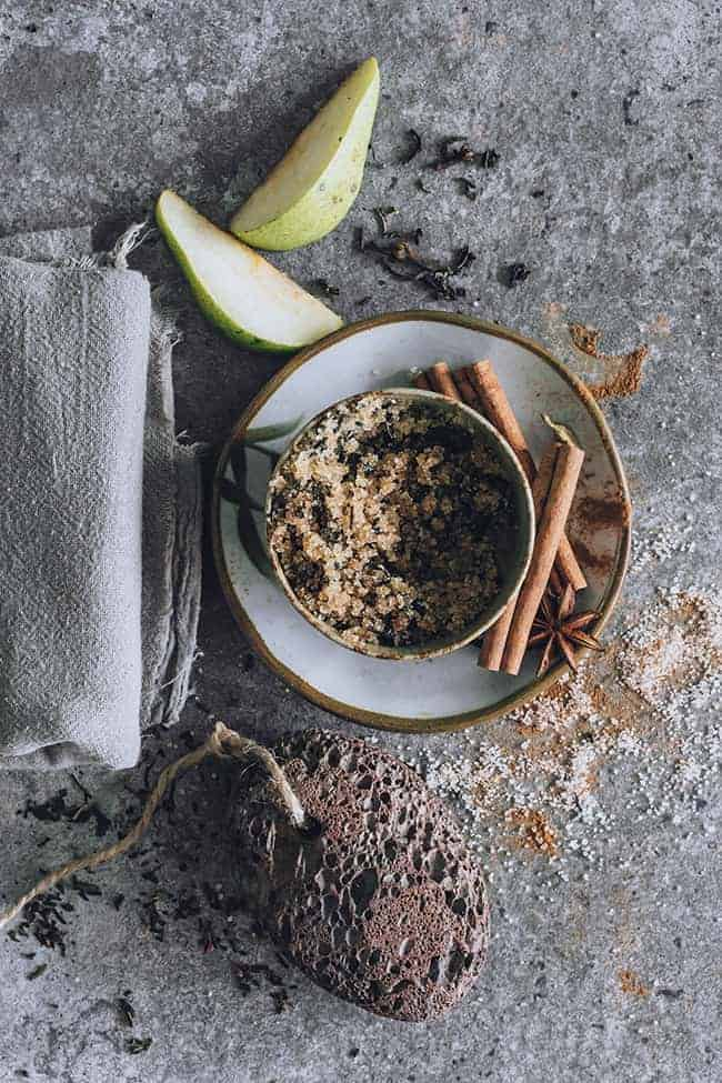 Celebrate Fall With This Swoon-Worthy Chai Pear Sugar Scrub