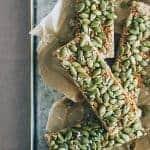 Pumpkin Seed Granola Bars