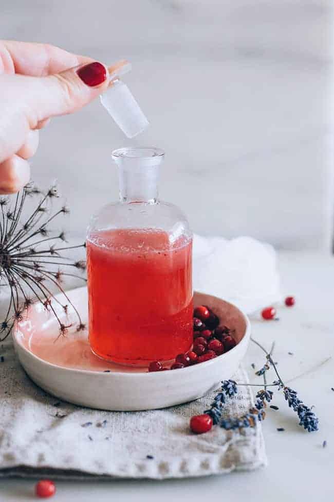 Fall Skincare - Cranberry Toner