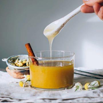 Apple Cider Vinegar Immunity Elixir