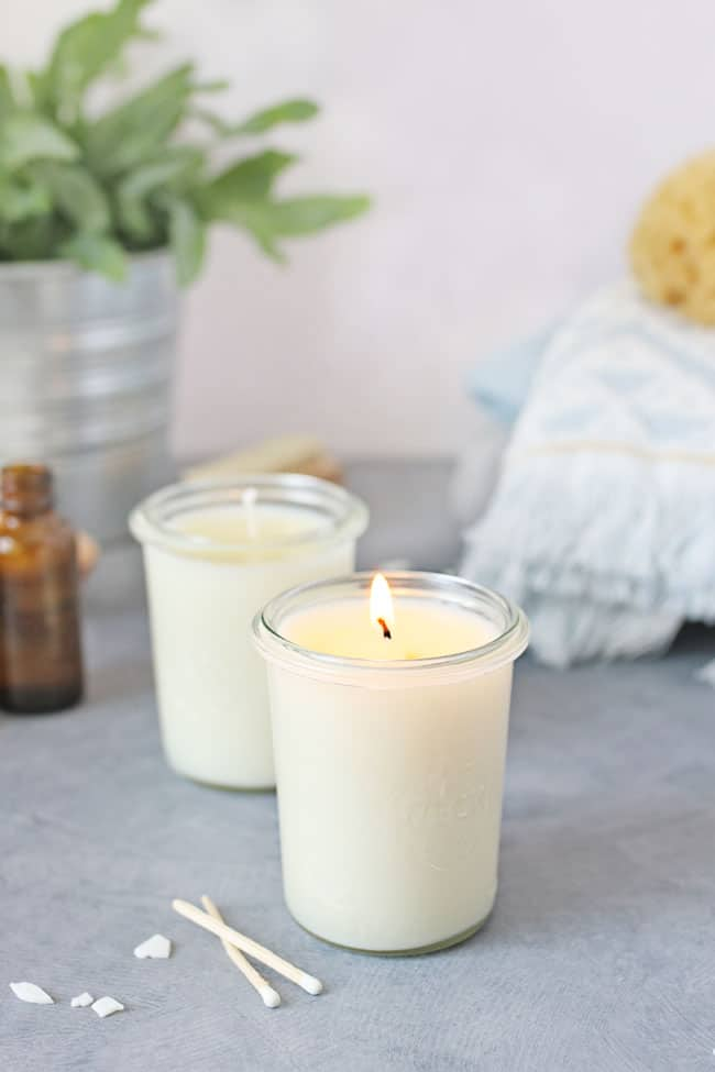 Have a Massage At Your Fingertips With DIY Massage Candles