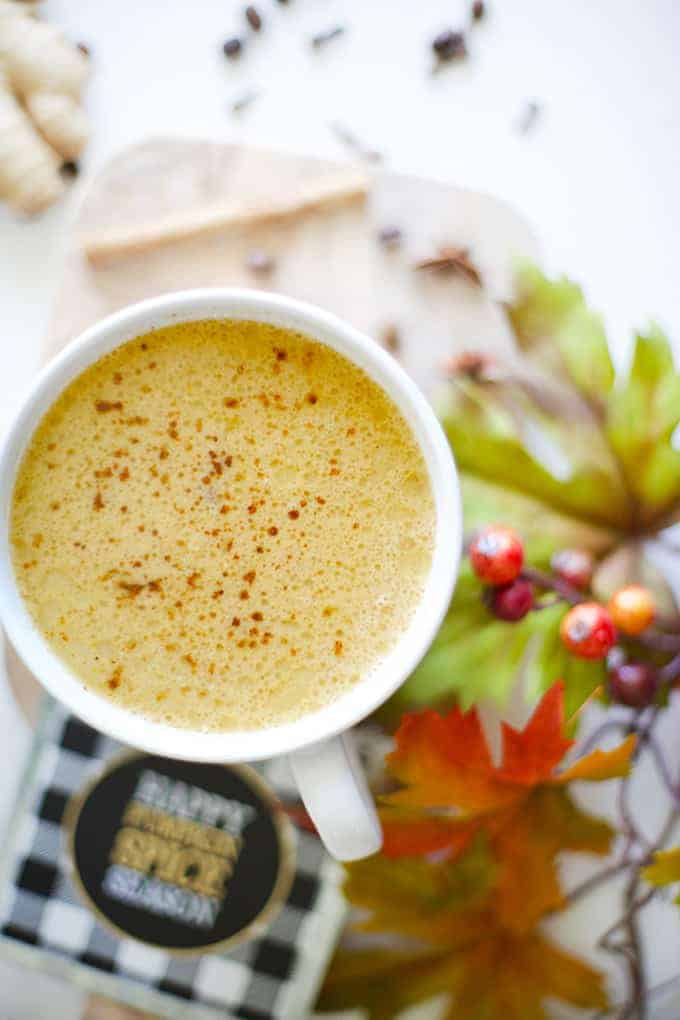 Fat-Burning MCT Oil Pumpkin Spice Latte