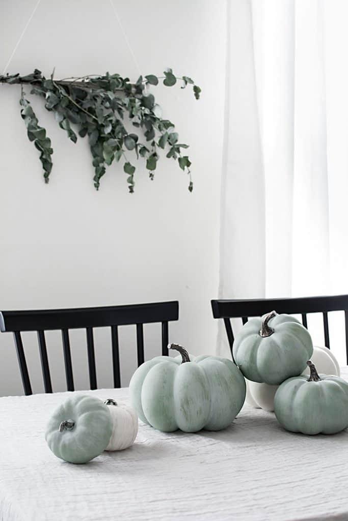 Painted Jade Pumpkins