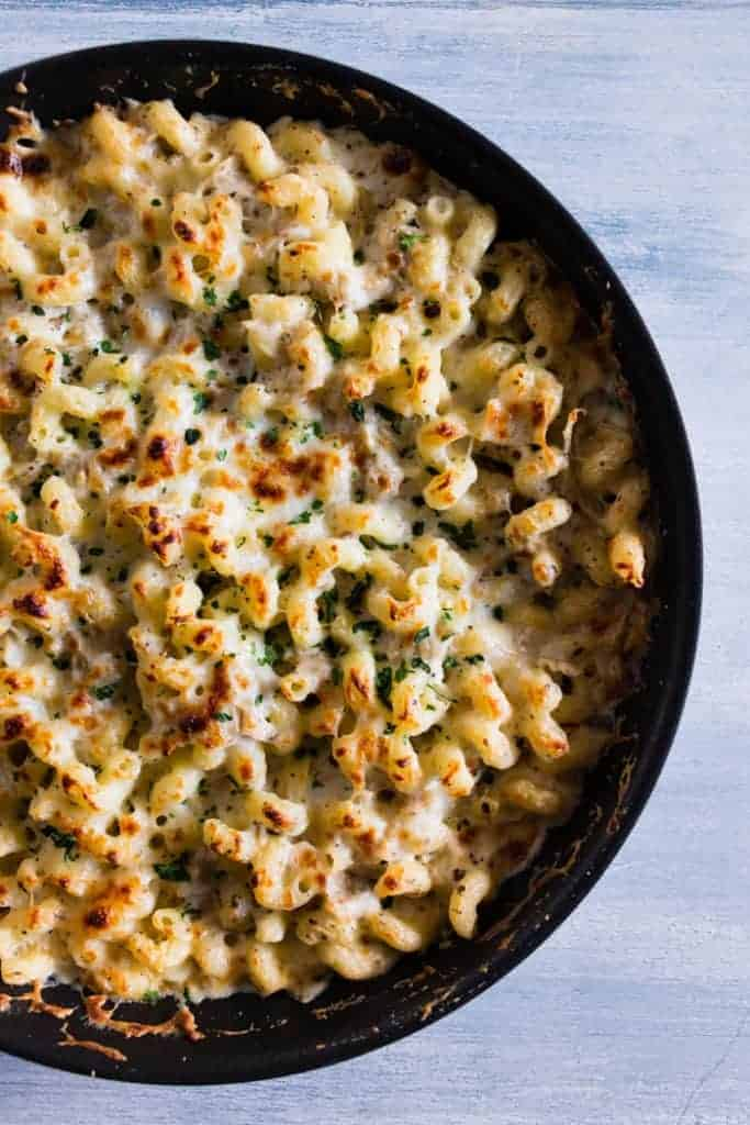 Creamy Artichoke Baked Pasta from Kitchen Treaty