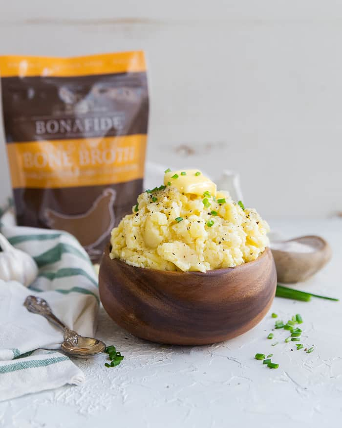 A Thanksgiving Upgrade You Have to Try: Bone Broth Mashed Potatoes