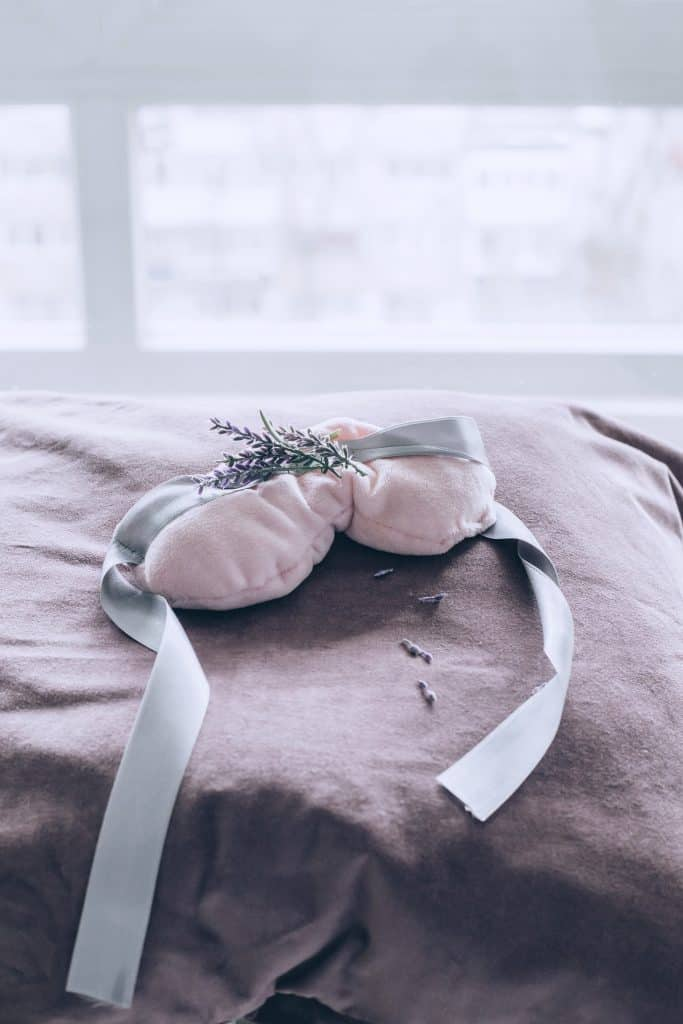 Relaxing Lavender Eye Pillow from Essential Glow