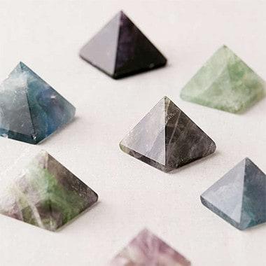 Chaparral Studio X UO Vanquish Bad Vibes Fluorite Crystal Pyramid