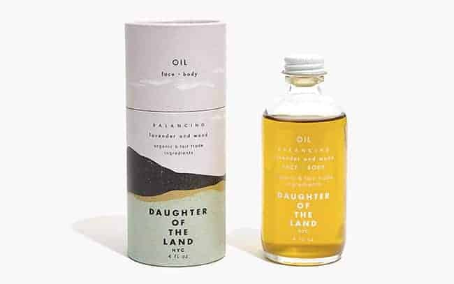 Daughter of the Land face and body balancing oil