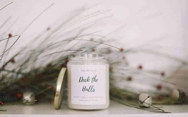 The Archives NC Candle