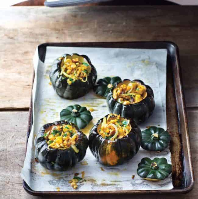 This Walnut Stuffed Squash Is the Perfect Vegetarian Thanksgiving Dish