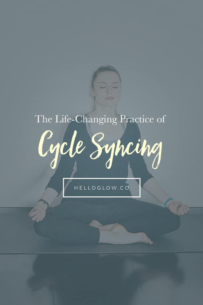 The Life-Changing Practice of Cycle Syncing
