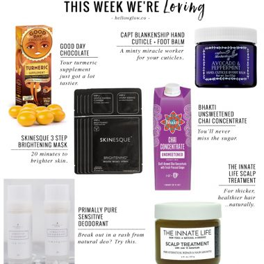 The Turmeric Chocolate We're Completely Obsessed With + 5 More Things We're Loving This Week