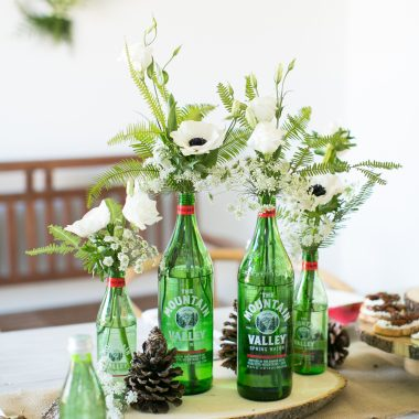 Our Infused Water Holiday Party