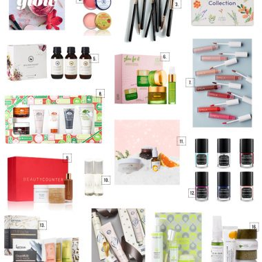 The Best Natural Beauty Gifts for the Holidays