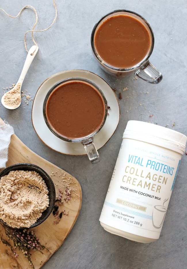 Collagen-Boosting Glowing Skin Hot Chocolate