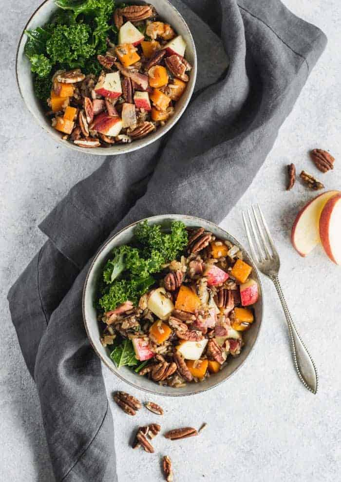 Butternut Squash and Wild Rice Salad from Well-Fed Soul