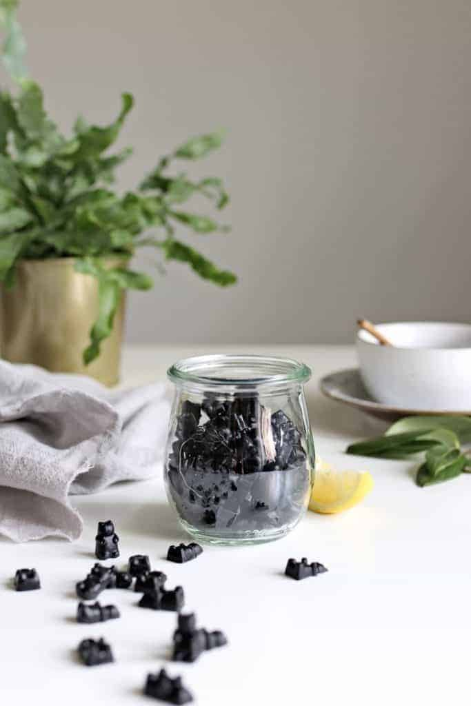 Activated Charcoal Gummies for Detox + Gut Health from Hello Glow