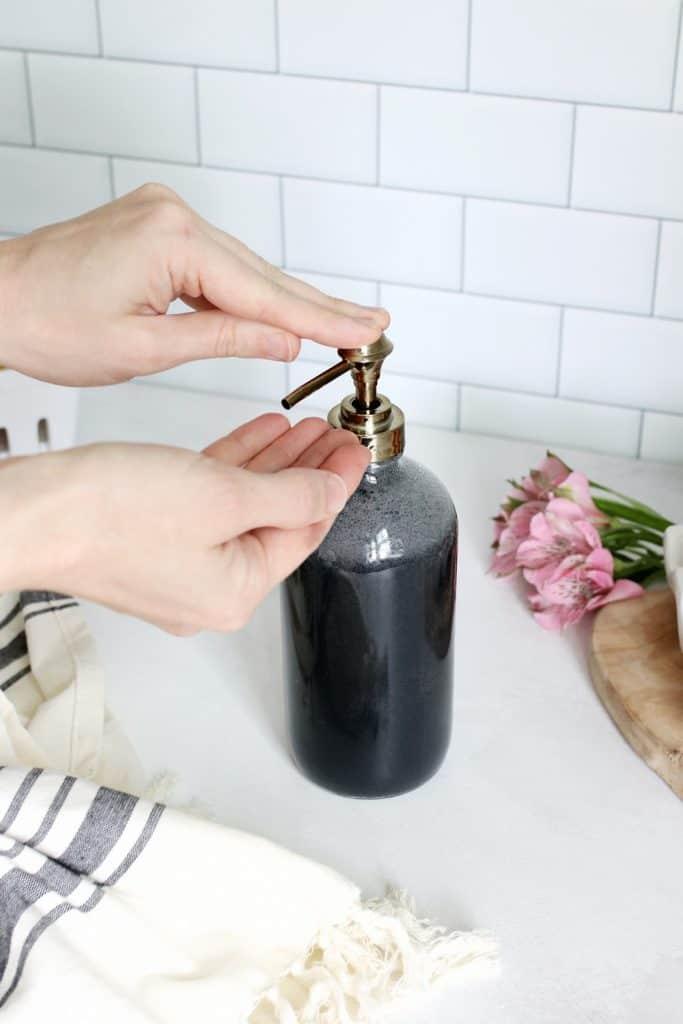 Sabun Tangan Arang