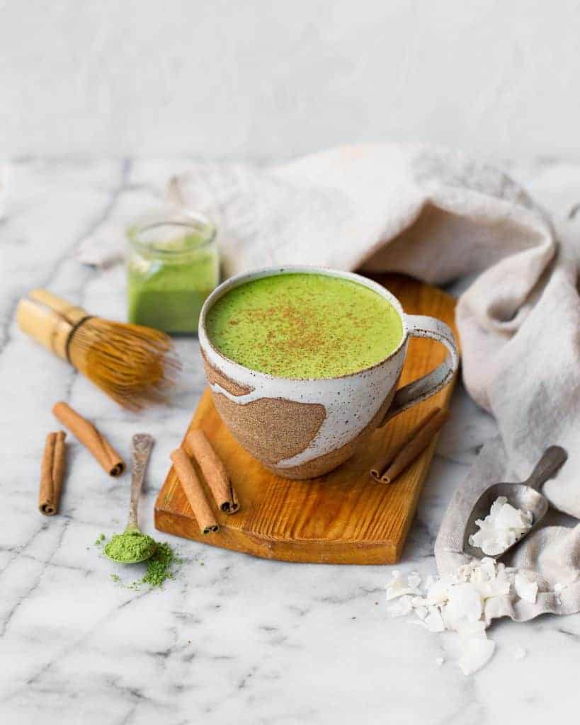 Your Skin Will Love This Bone Broth Matcha Latte