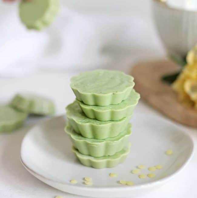DIY Matcha Bath Melts for a Soothing Winter Soak