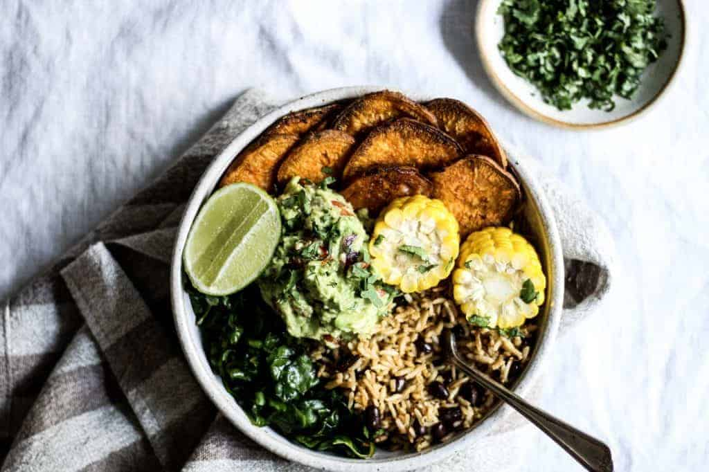Mexican Nourish Bowl from Sarah Bell Nutrition