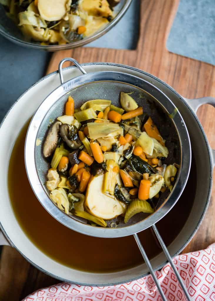 A Nourishing Vegetarian Bone Broth Alternative (+ a Pho Recipe Too!)