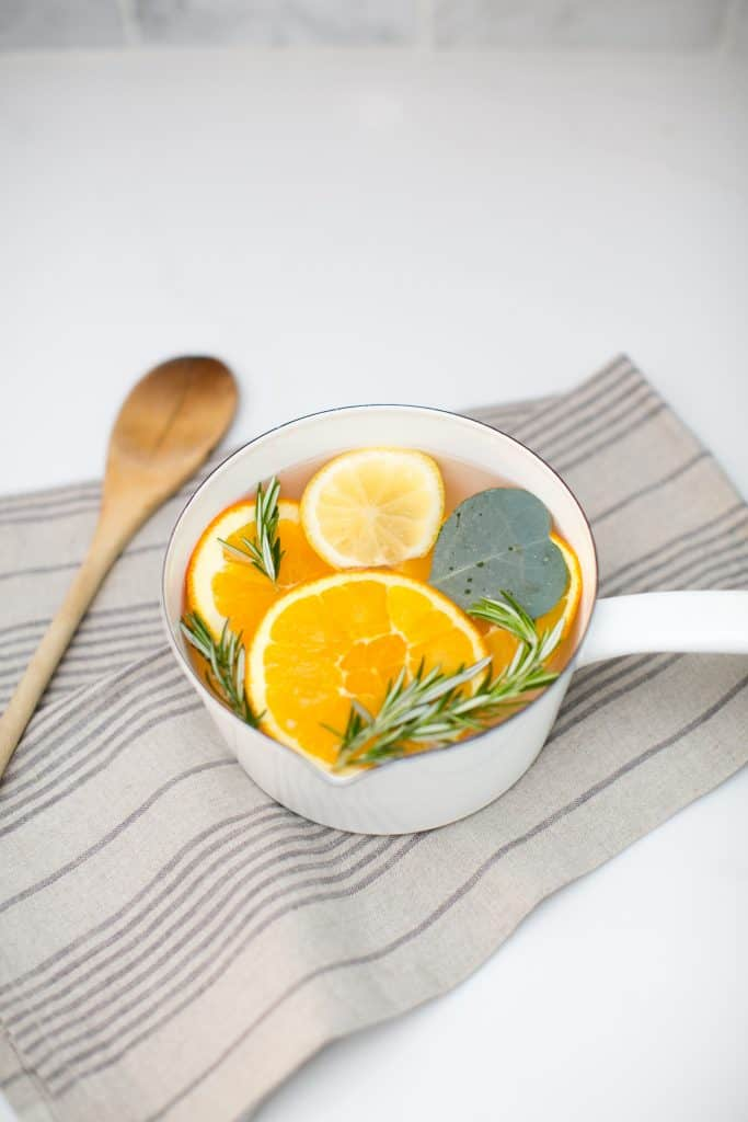 Uplifting Rosemary Citrus Pot Simmer