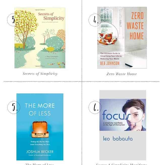 Live with Less: 8 Books on Minimalism + Simplicity